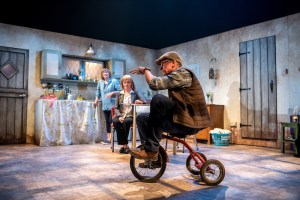 A scene from The Children with Laurie Paton, Fiona Reid, Geordie Johnson Photo - Dahlia Katz