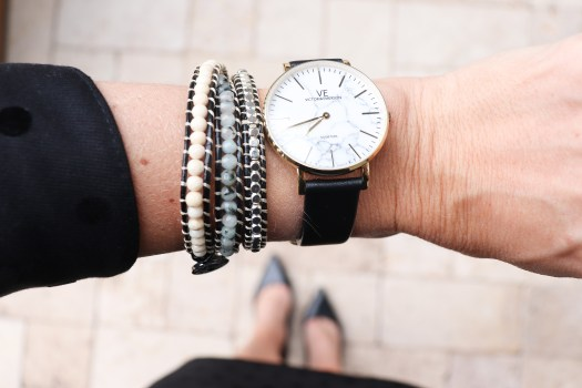 How perfect is this marble face watch?