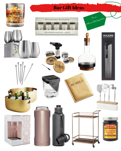 Gift Guide Bar Gifts The Sensible Shopaholic