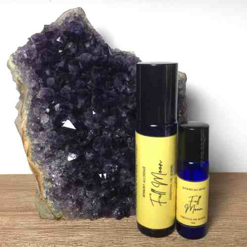 Full Moon Aromatherapy essential oil blend from Sensory Alcheme by The Sensory Coach