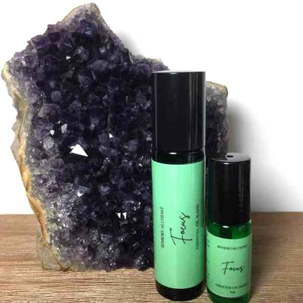 Focus Aromatherapy essential oil blend from Sensory Alcheme by The Sensory Coach