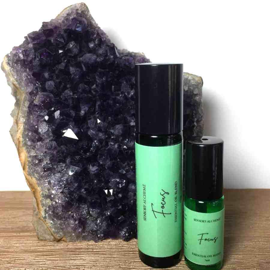 Focus Blend Aromatherapy Rollerballs