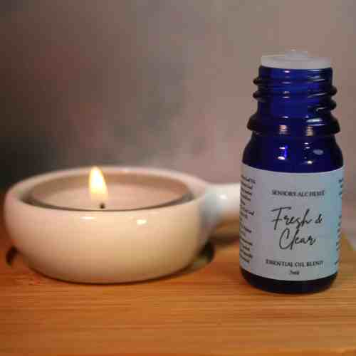 Fresh & Clear 5ml aromatherapy blend respiratory support from The Sensory Coach