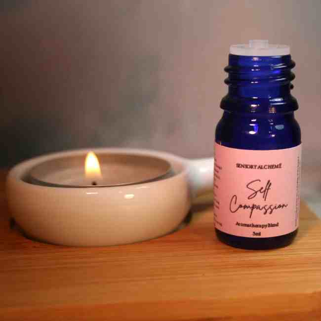 Self Compassion aromatherapy blend from The Sensory Coach