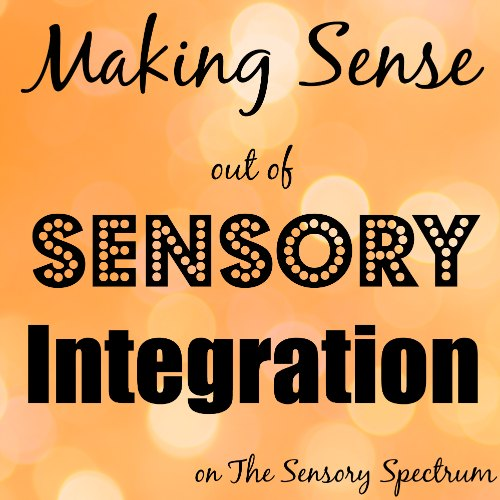 Making Sense out of Sensory Integration