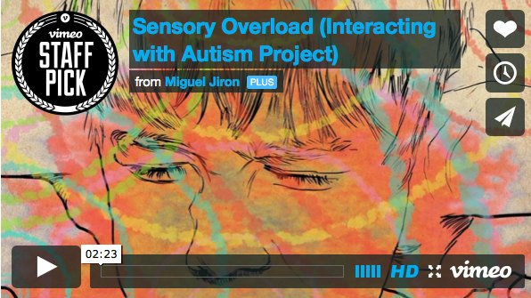 What sensory overload may be like for your child