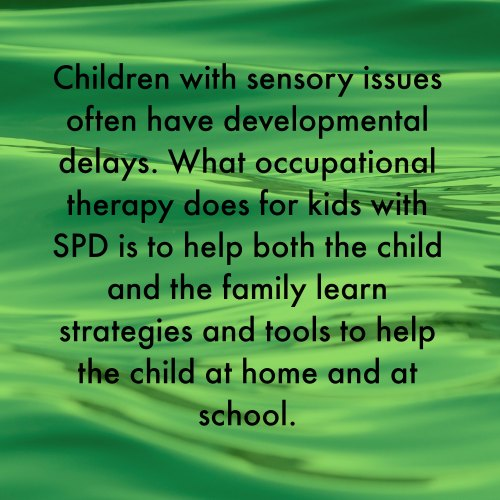 School and Sensory Processing Disorder: Get Set for Success