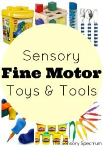 Sensory Fine Motor Toys & Tools | The Sensory Spectrum