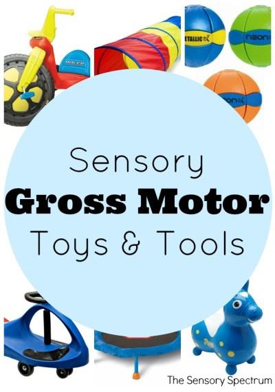 Sensory Gross Motor Toys and Tools   The Sensory Spectrum