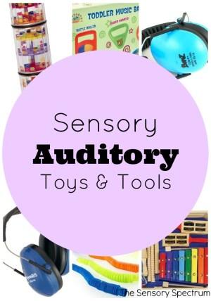 Sensory Auditory Toys & Tools | The Sensory Spectrum