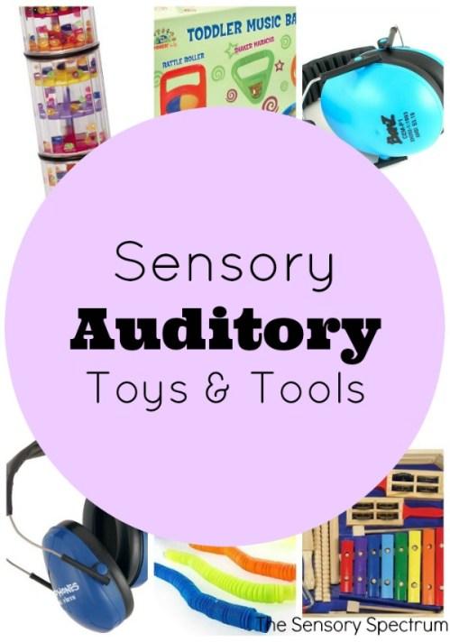 Sensory Auditory Toys & Tools   The Sensory Spectrum