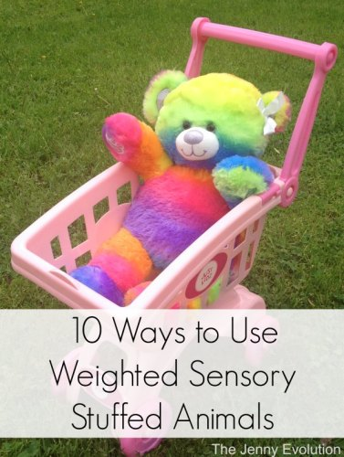 10 Ways to Use Weighted Sensory Stuffed Animals