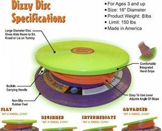 Dizzy Disc (Gross Motor, Vestibular Toy)