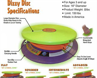 Dizzy Disc (Gross Motor Toys)