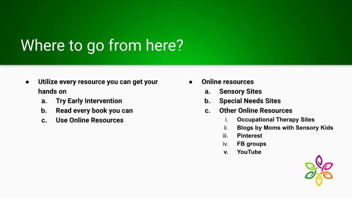 New to Sensory Slide 8