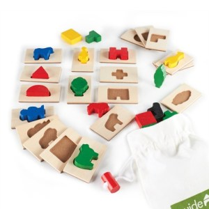 Guidecraft 3D Feel & Find Play Set (Tactile Toys)