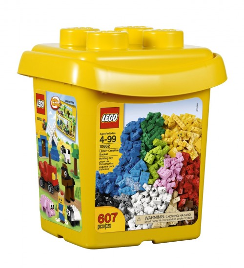 LEGO Bricks & More Creative Bucket (Fine Motor Toys)