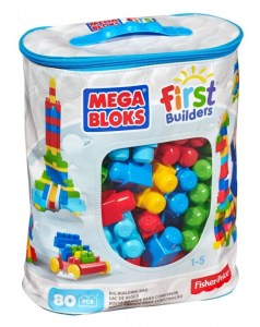 Mega Bloks First Builders Big Building Bag (Fine Motor Toys)