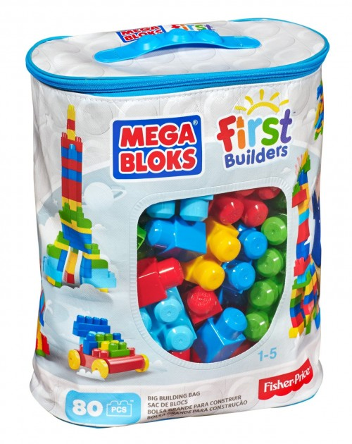 Mega Bloks First Builders Big Building Bag (Fine Motor Toys)