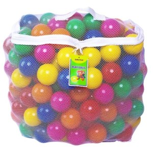 PBA Free Crush Proof Plastic Pit Balls (Tactile Toys)