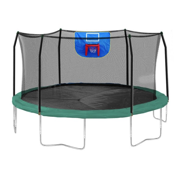 Outdoor Trampoline with Safety Net (Proprioception)