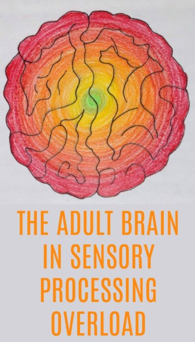 The Burning Brain: The Adult Brain on Sensory Processing Overload
