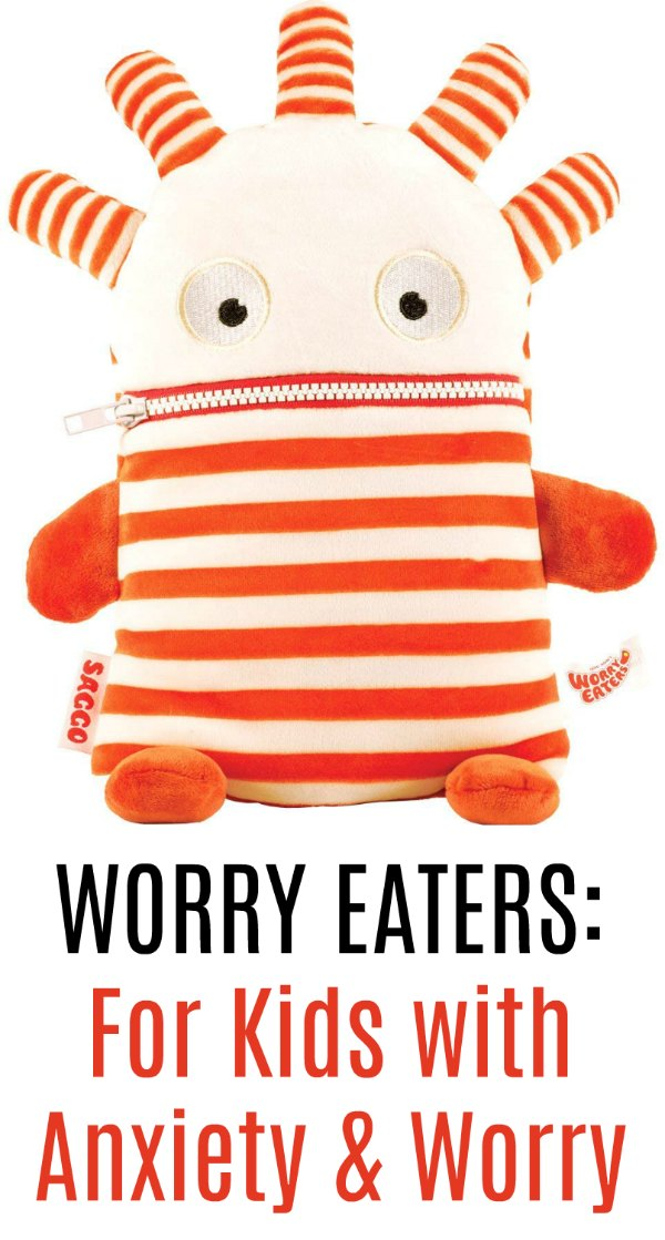Worry Eaters for kids with anxiety and worry