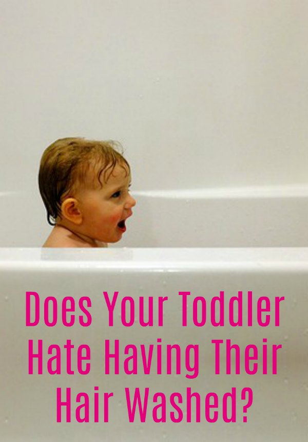 Does Your Toddler Hate Having Their Hair Washed?