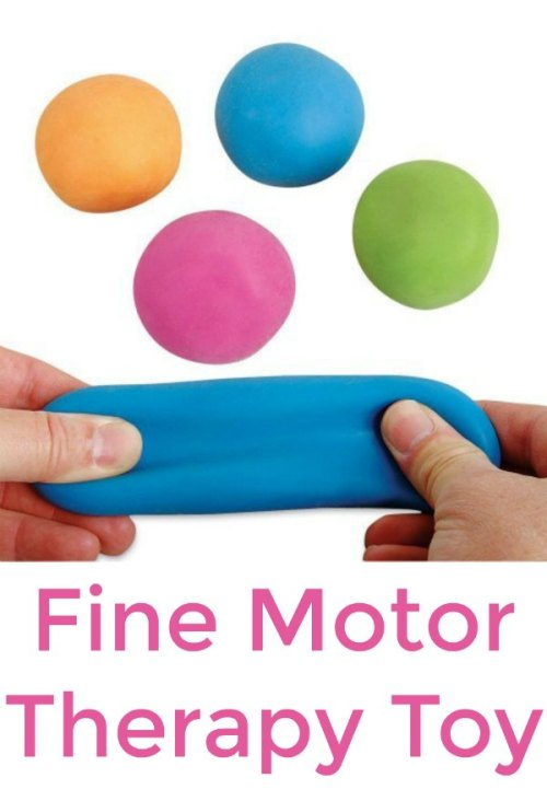 Pull, Stretch, and Squeeze Ball (Fine Motor Toys)