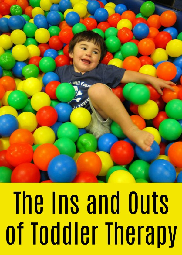 The Ins and Outs of Toddler Therapy