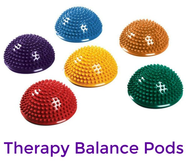 SPRI 6 Balance Pods for Therapy (Vestibular Tools)