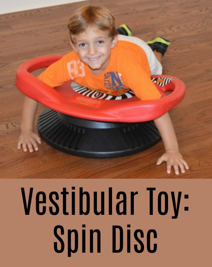 Spin Disc (Vestibular Toy) - Perfect for kids who need to spin or work on their vestibular system!
