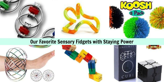 our favorite sensory fidgets with staying power