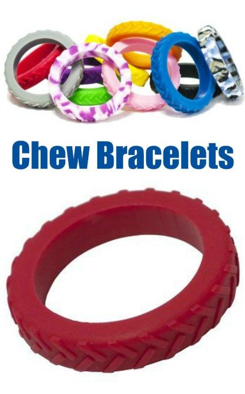 Tread Bangle Chew Bracelet (Oral Sensory Tool) | The Sensory Spectrum