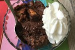 Mint Chocolate Bread Pudding is a rich dessert that is perfectly paired with whipped cream or creamy vanilla ice cream. When you have leftover, slightly stale, bread, don't throw it out, make a bread pudding like this one.