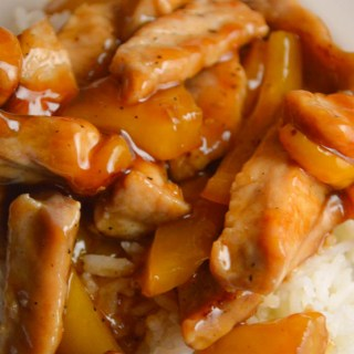 This Island Sweet and Sour Pork dish is sure to be a family favorite dinner when served over a bed of rice.