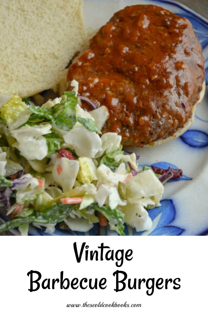 These Vintage Barbecue Burgers are full of flavor and a snap to pull together when you are looking for an easy sandwich option.
