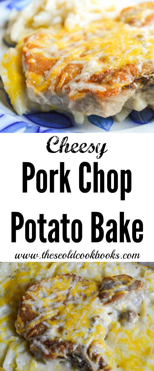 Pork Chop Potato Bake is an easy recipe for you to put together that will please those meat and potato lovers in your family.