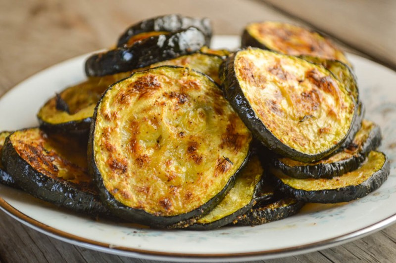 The gentle spice of this Spicy Roasted Zucchini makes it a perfect side dish for any meal, especially when you need a dish using easy ingredients.
