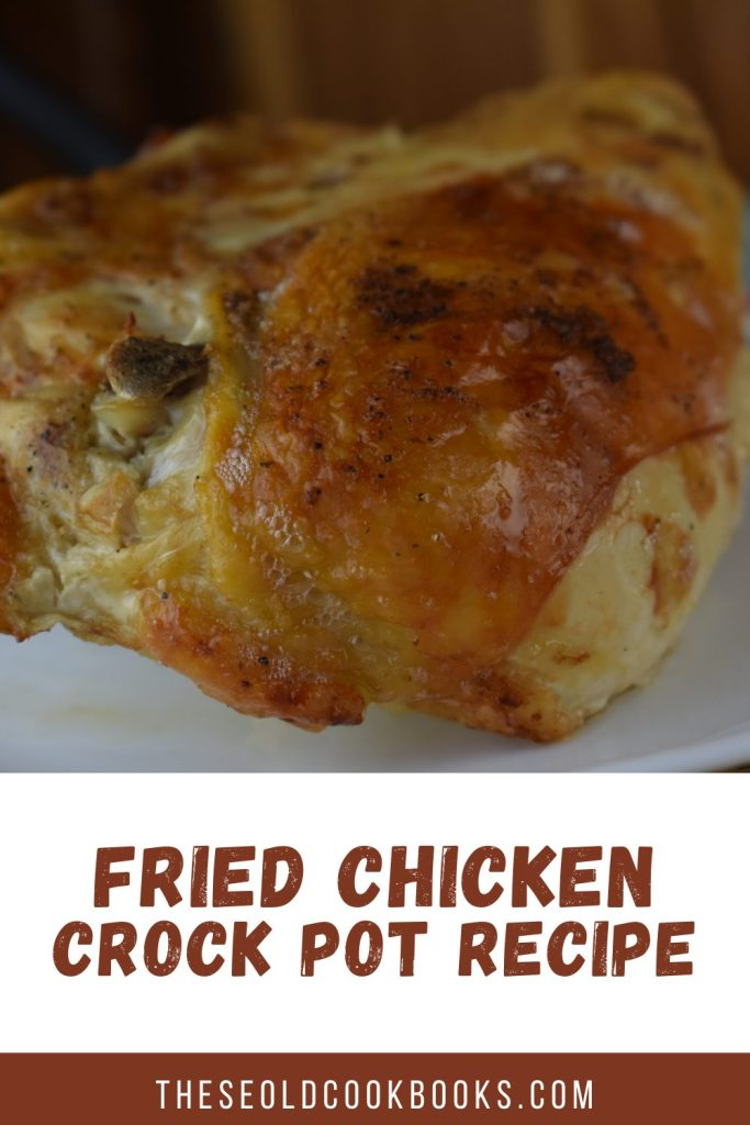 Do you love fried chicken but hate making it? Try our Crock Pot Mock Fried Chicken for all of the taste but none of the mess!