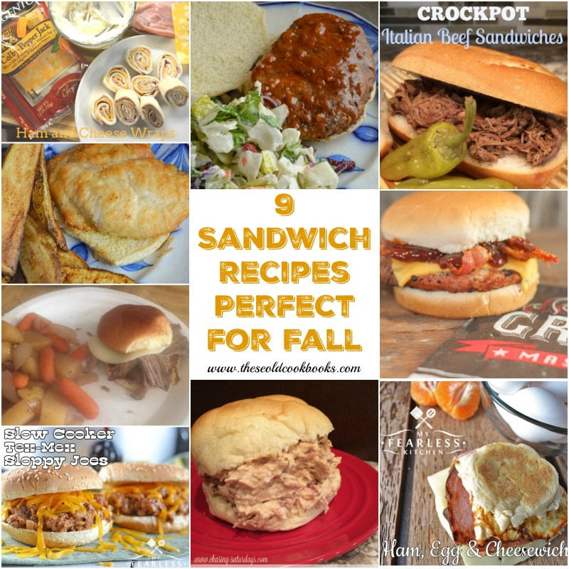 No matter if it is a farm field or a football field, fall is a busy season for many. These 9 sandwich recipes are perfect for on-the-go families.