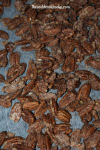 Crock Pot Glazed Pecans are the perfect sweet and satisfying snack any time of the year, and they make a great gift to share with friends and family. Hello, Christmas gift!