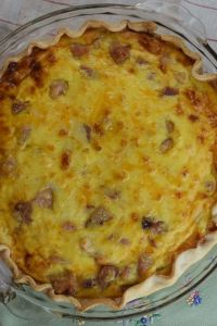 This Make-Ahead Ham and Cheese Quiche can be pulled together the night before you need it and customized to your tastes but simply adding your favorite ingredients.
