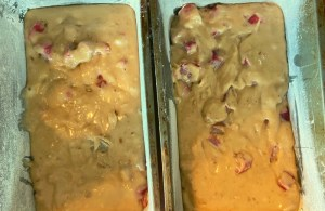 This quick rhubarb bread is a great breakfast or snack option.