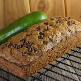 Our Mom's Perfect Chocolate Chip Zucchini Bread is delicious and really easy to make.