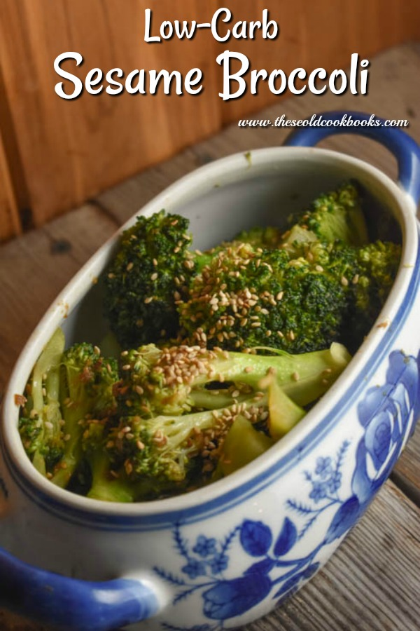 Low-Carb Sesame Broccoli is an easy side dish to add to almost any meal.