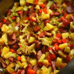 This one pot wonder consists of a buttery blend of fried cabbage, smoked sausage, carrots, potatoes and onions. Skillet Smoked Sausage and Cabbage is a quick meal that your entire family will enjoy.
