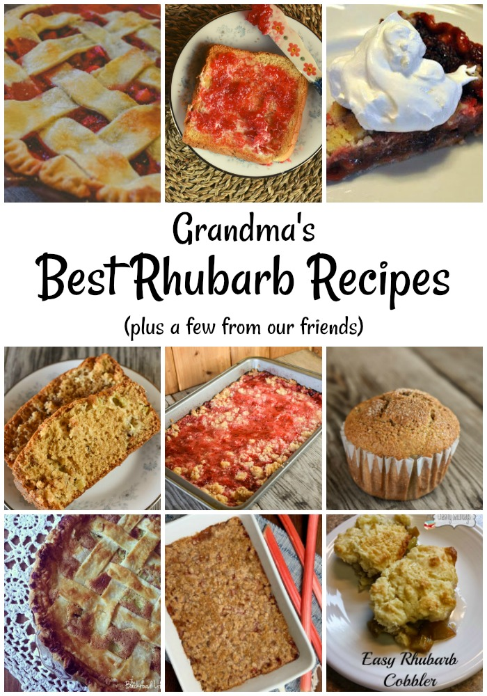Our Best Rhubarb Recipes roundup includes five recipes straight from our Grandma's recipe box as well as recipes from some of our friends.