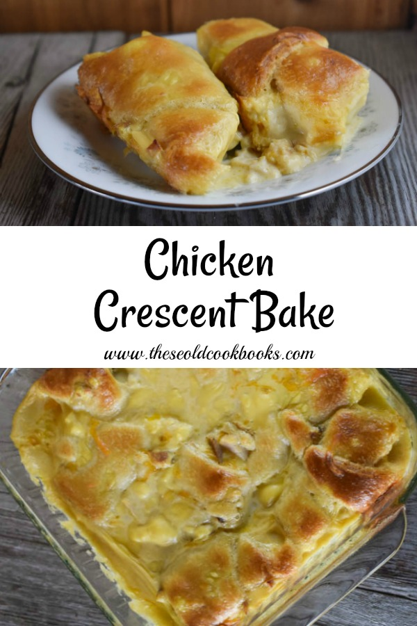 This Chicken Crescent Bake recipe features just five ingredients - many of which are probably already in your pantry or refrigerator.