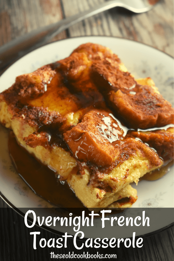 Overnight French Toast Casserole has a rich, eggy texture and yummy cinnamon flavor, and is prepped overnight. It also feeds a crowd making it perfect for a leisurely weekend brunch or for a family holiday.